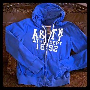 Men's medium Abercrombie blue sweatshirt